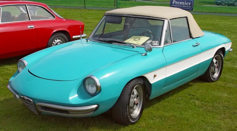 1967 Blue Alfa Romeo Spyder - Alfa Romeo - [Alfa Romeo Cars And ...
